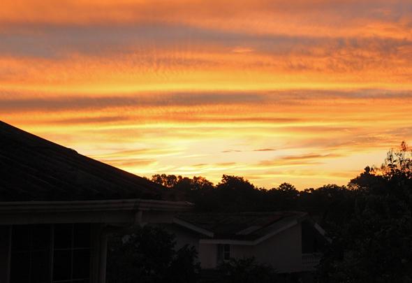 Sunrise in San Pedro Sula, Honduras