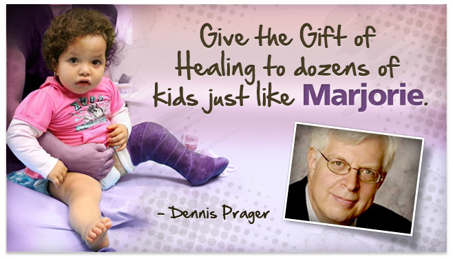 Give the gift of healing to dozens of kids just like Marjorie