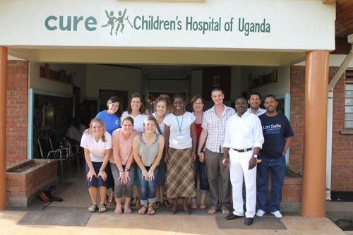 Short-term missions at CURE Uganda