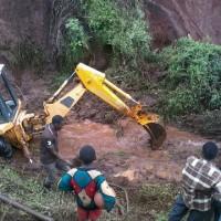 Landslide in Kijabe, Kenya