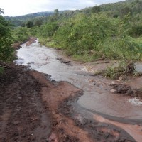 Pictures of the roads coming in and out of Kijabe Kenya