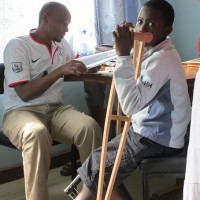 Dr. Mbugua at Eldoret clinic