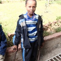 A photo of Mohammed Abdo from Ethiopia. Learn more at cure.org/curekids/ethiopia/2012/04/mohammed_abdo/
