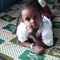 A photo of Teyent Asrat from Ethiopia. Learn more at cure.org/curekids/ethiopia/2012/05/teyent_asrat/