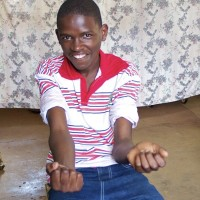 A photo of James Macharia from Kenya. Learn more at cure.org/curekids/kenya/2011/11/james_macharia/
